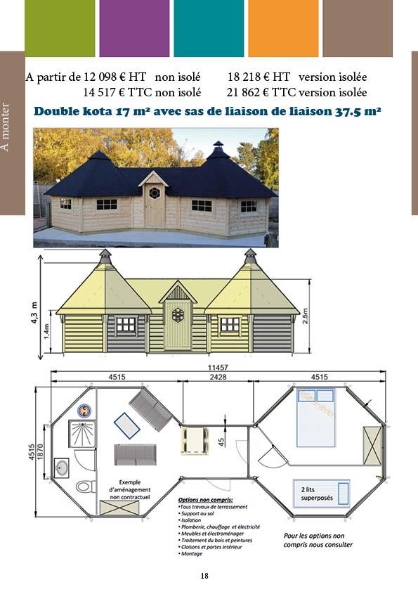 double kota 15 m²