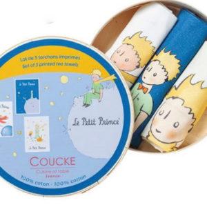 Lot de 3 torchons Petit Prince